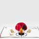 Pop up campfire card